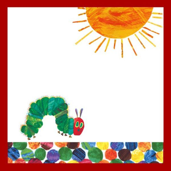 Free Very Hungry Caterpillar Party Printables