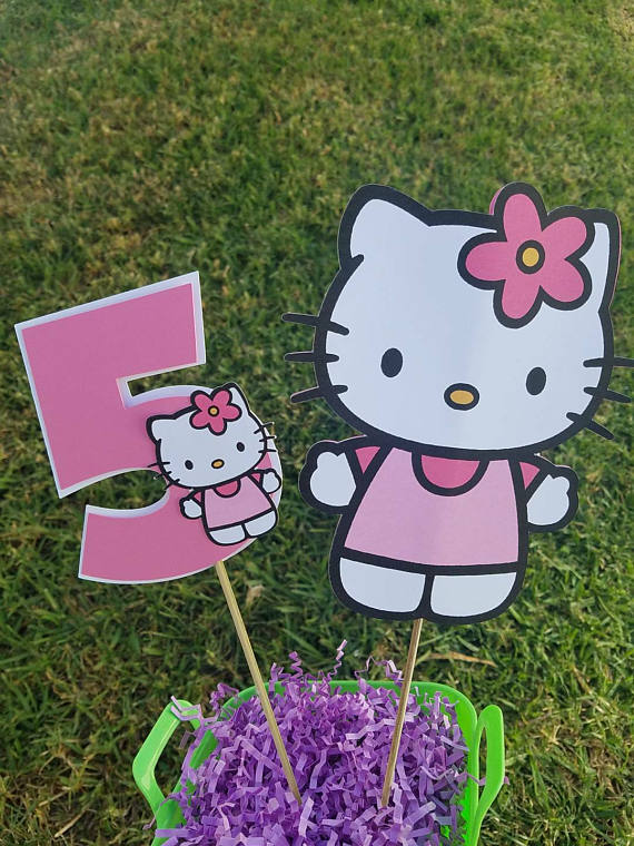 Hello Kitty Party Centerpiece | Hello Kitty Party Ideas