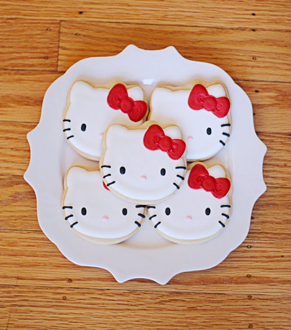 Hello Kitty Cookies | Hello Kitty Party Ideas