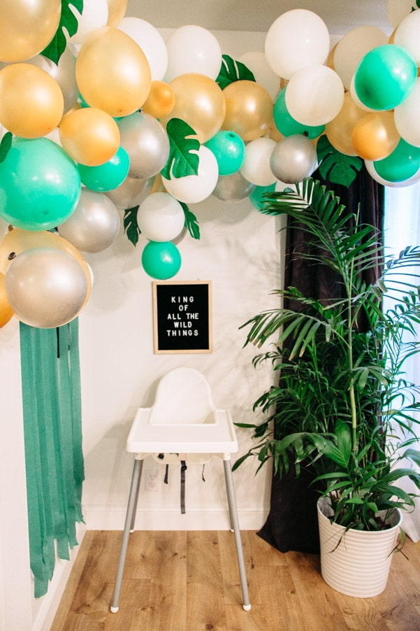 Wild One Balloon Decoration - Wild One Party Theme