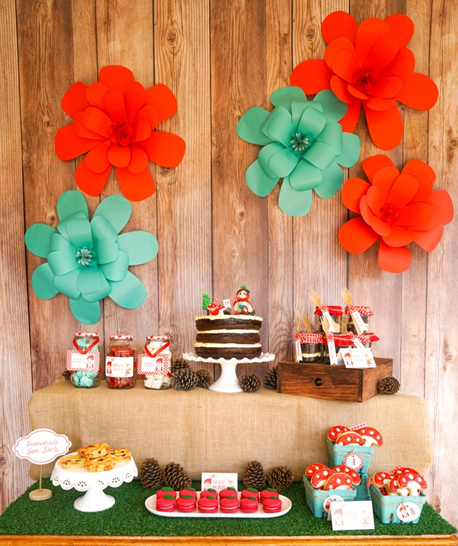 Most popular kids party themes: Red Riding Hood Party