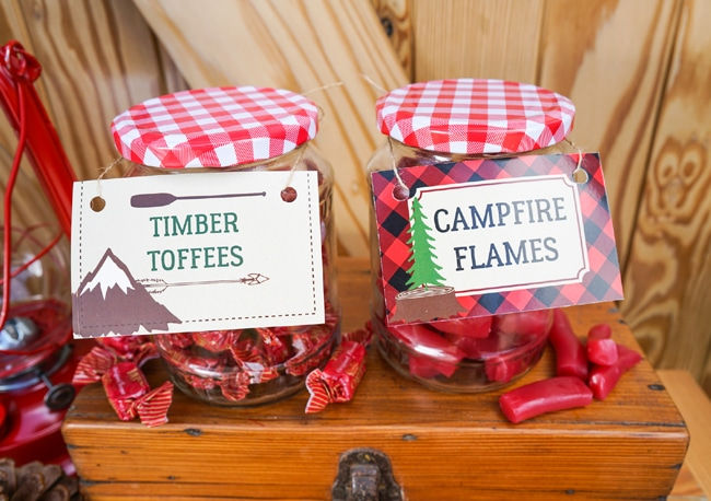 Lumberjack Party Candy