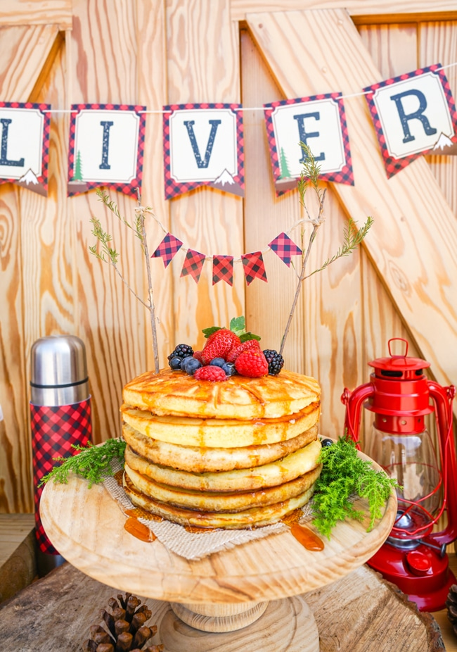 creative lumberjack birthday party - pretty my party