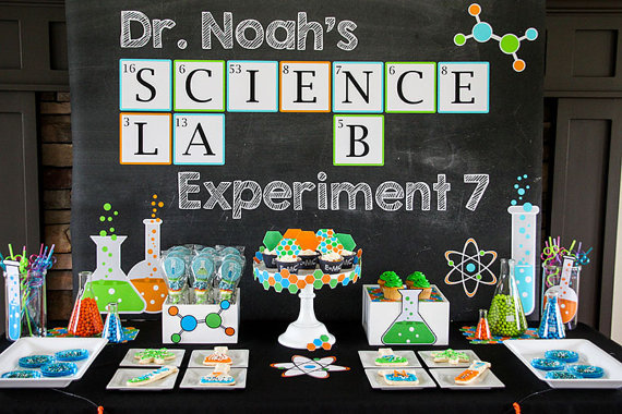 photograph about Printable Mad Science Sign referred to as 24 Nuts Outrageous Scientist Bash Programs - Rather My Celebration