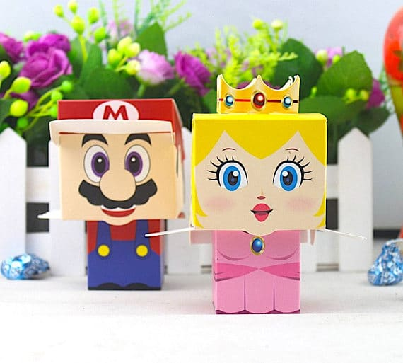 Super Mario Favor Boxes | Super Mario Party Ideas