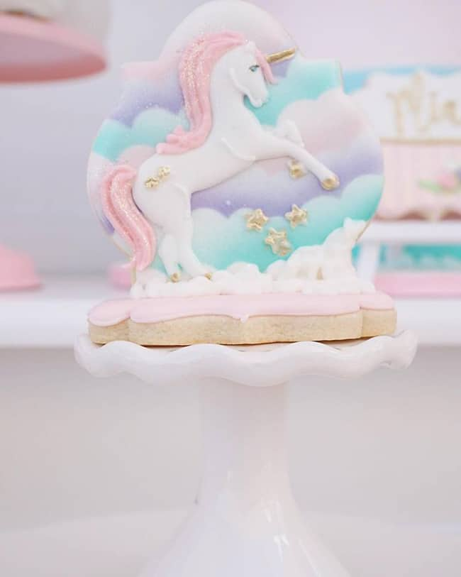 Pretty Pastel Unicorn Birthday Party featured on Pretty My Party