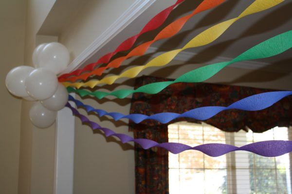 Rainbow Party Decoration Idea | Rainbow Party Ideas