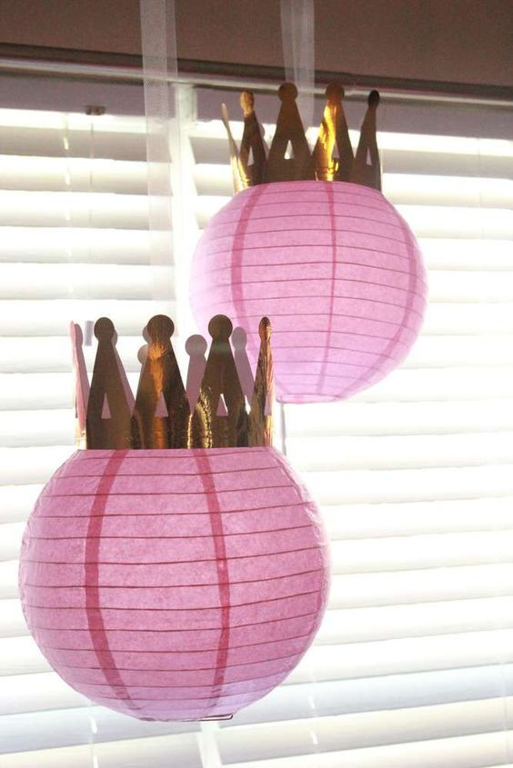 Sofia the First Party Lanterns | Sofia the First Party Ideas