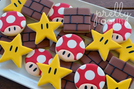 Super Mario Party Cookies | Super Mario Party Ideas