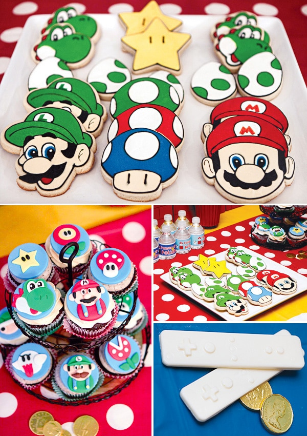 Super Mario Party Desserts | Super Mario Party Ideas