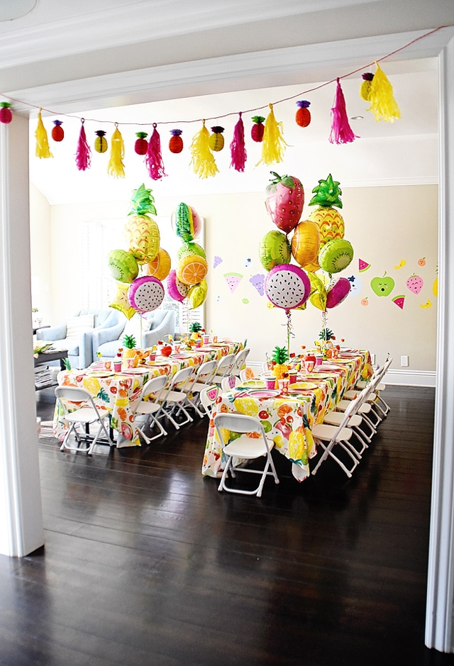 Fabulous Tutti Frutti Birthday Party Pretty My Party