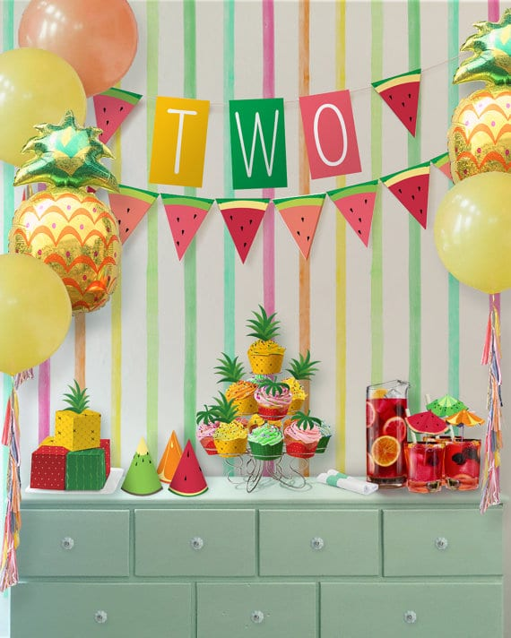 23 Tutti Frutti Themed Birthday Party Ideas