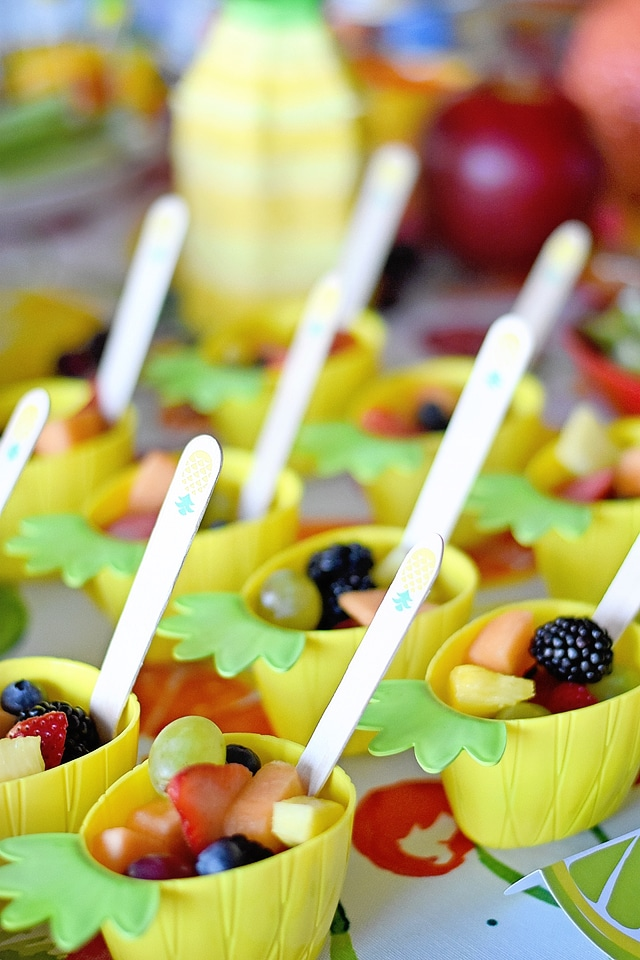 Pineapple Fruit Cups