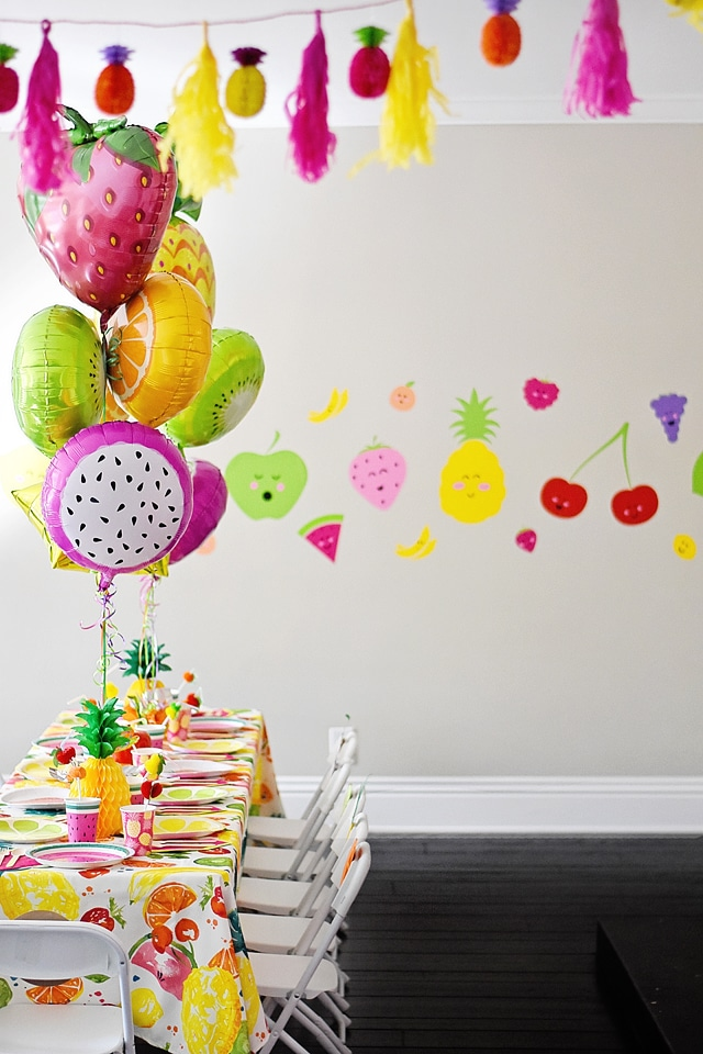 Pop Machine For Sale >> Fabulous Tutti Frutti Birthday Party - Pretty My Party - Party Ideas