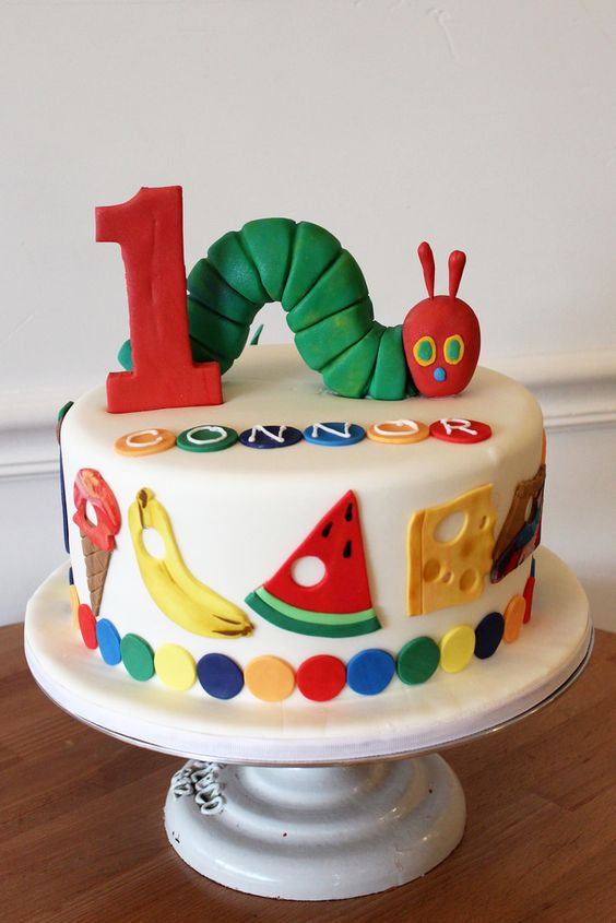 Very Hungry Caterpillar Cake | Very Hungry Caterpillar Party Ideas