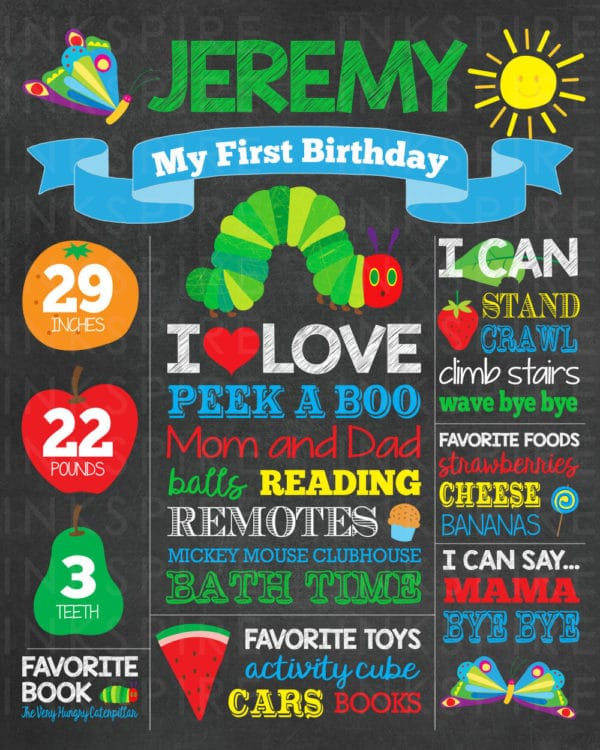24 Very Hungry Caterpillar Party Ideas