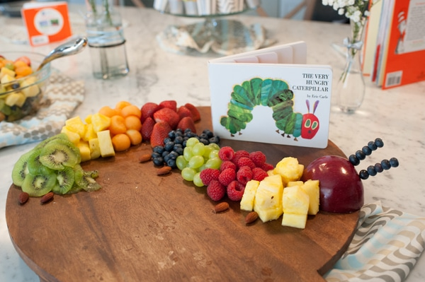 Very Hungry Caterpillar Fruit Idea | Very Hungry Caterpillar Party Ideas