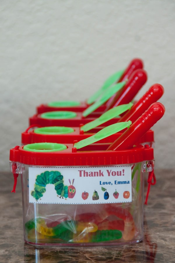 Very Hungry Caterpillar Favor Ideas | Very Hungry Caterpillar Party Ideas