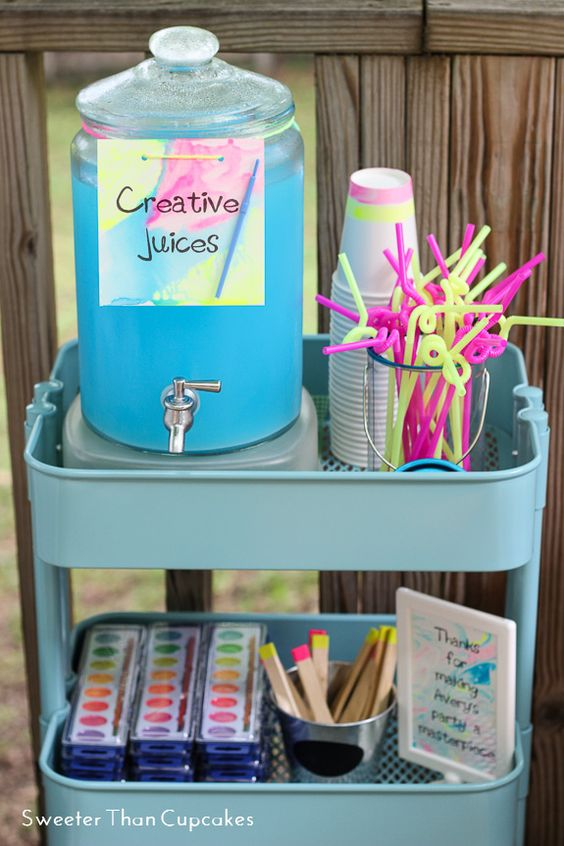 """Creative Juices"" Beverage Station 