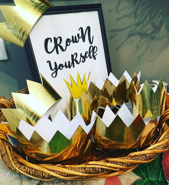 Wild One Birthday Crowns - Crown Yourself Station - Wild One Birthday