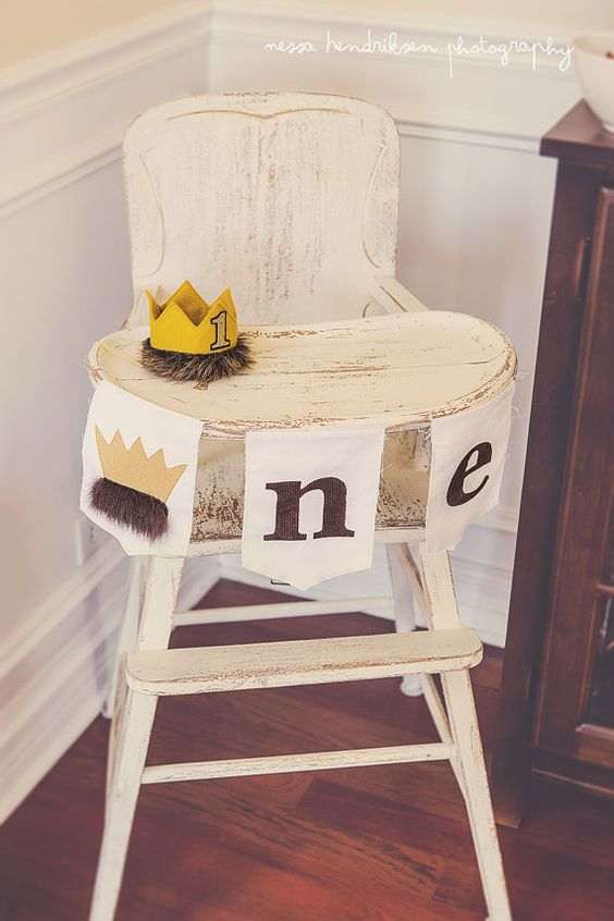 Wild One Highchair Banner - Wild One Birthday Theme