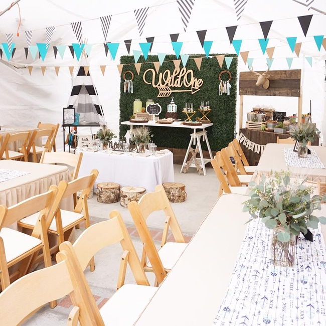 Wild One Themed Birthday Party Featured On Pretty My