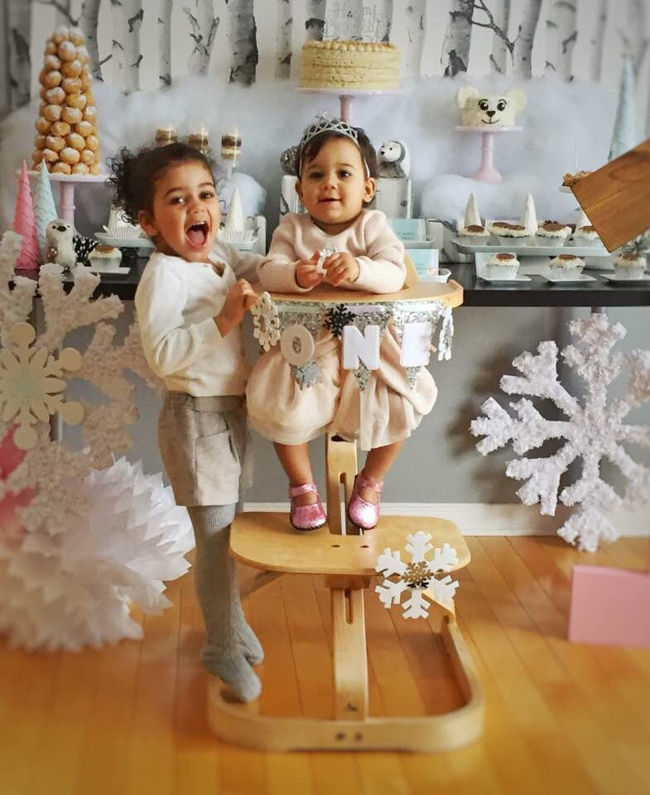 Winter Wonderland First Birthday Party