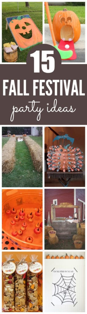 15 Fantastic Fall Festival Party Ideas on Pretty My Party
