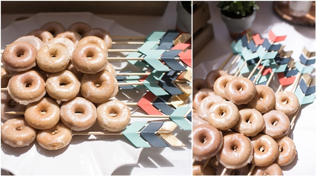 Wild One First Birthday Party Donuts