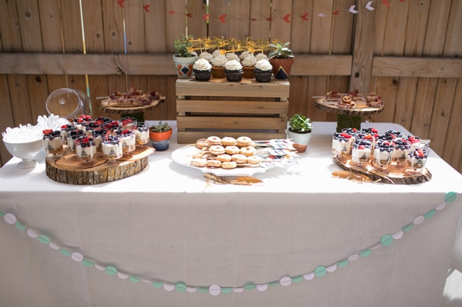 Wild One First Birthday Party Table