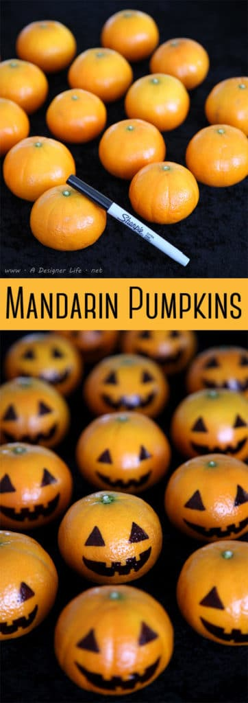 Mandarin Pumpkins | Fall Festival Party Ideas