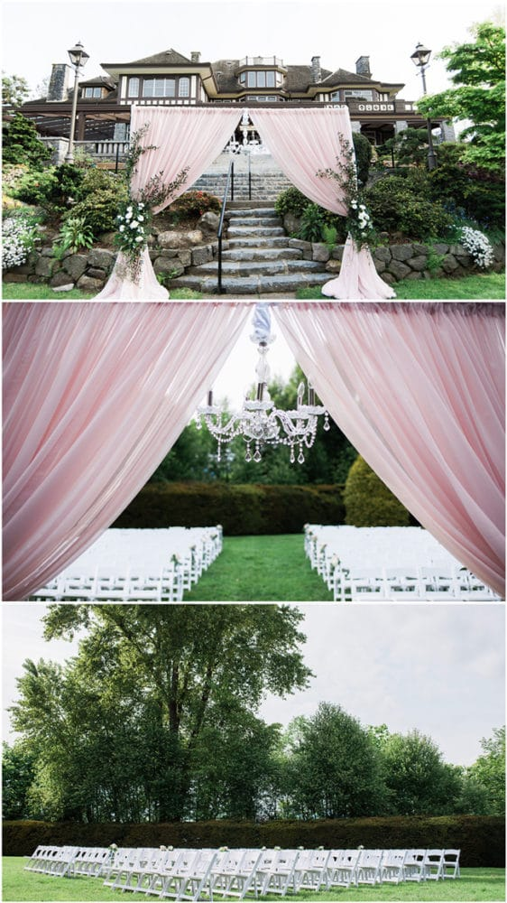 Romantic Outdoor Estate Wedding