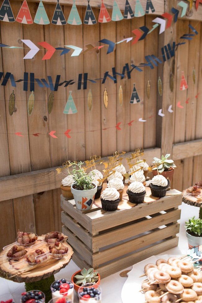 Wild One First Birthday Party on Pretty My Party