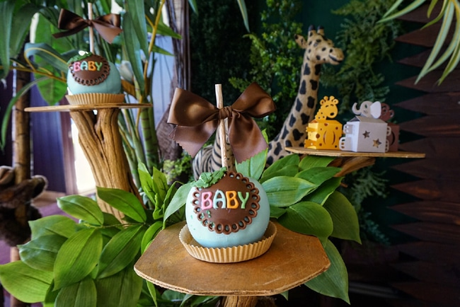 Delightful ... Animal Safari Themed Baby Shower Desserts ...