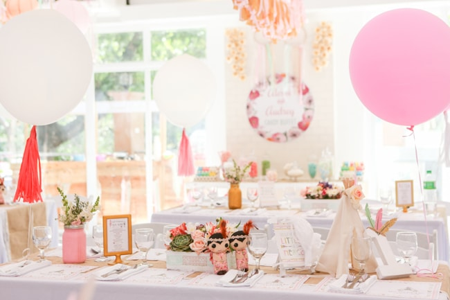 twins boho themed 1st birthday party pretty my party party ideas