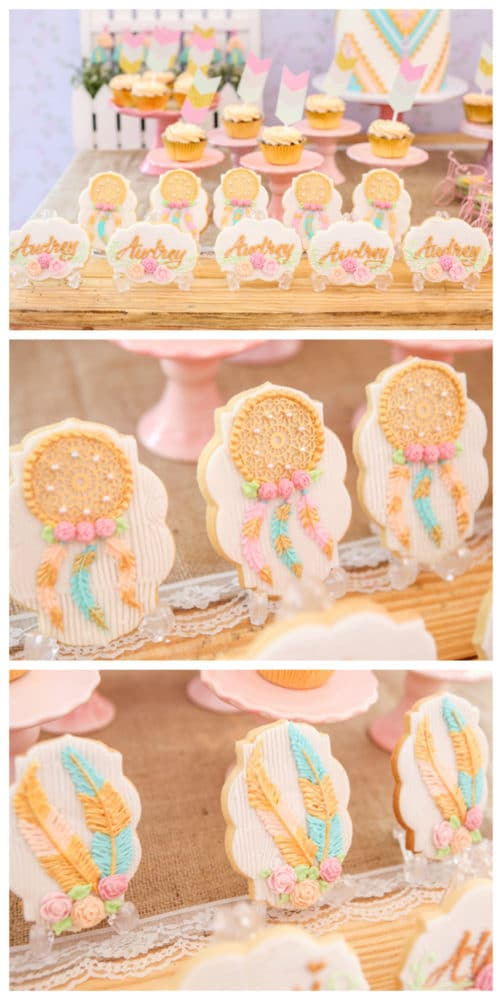 Twins Boho Themed 1st Birthday Party Pretty My Party
