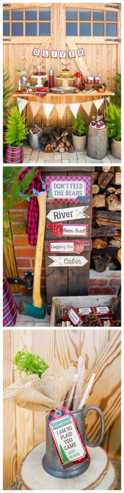 Creative Lumberjack Party Ideas