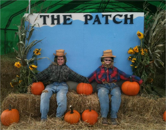 Fall Festival DIY Photo Booth Idea