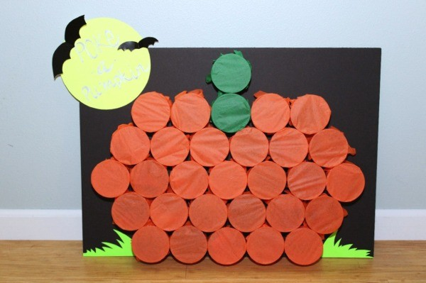 DIY Poke A Pumpkin Game | Fall Festival Party Ideas