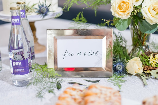 Free As a Bird Sign | Little Bird Themed Baby Shower