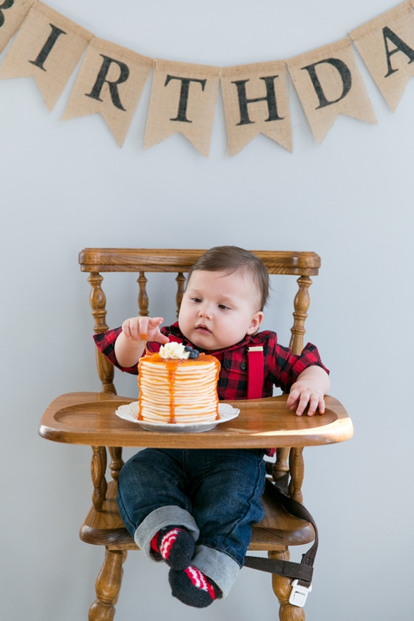 Lumberjack 1st Birthday Party | Lumberjack Party Ideas