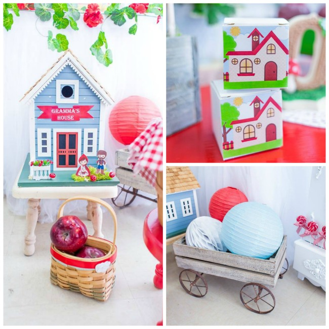 Adorable Little Red Riding Hood Birthday Party