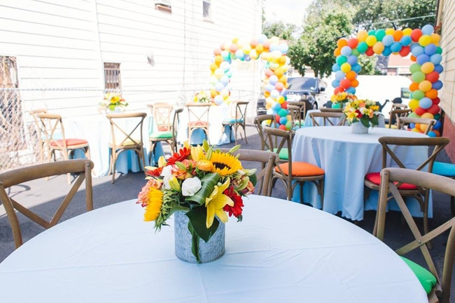 Sesame Street Party Centerpieces