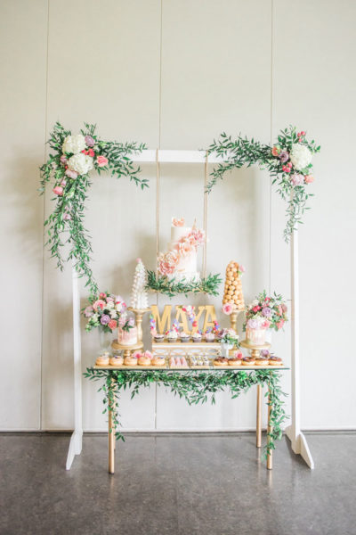 Elegant Garden Theme First Birthday