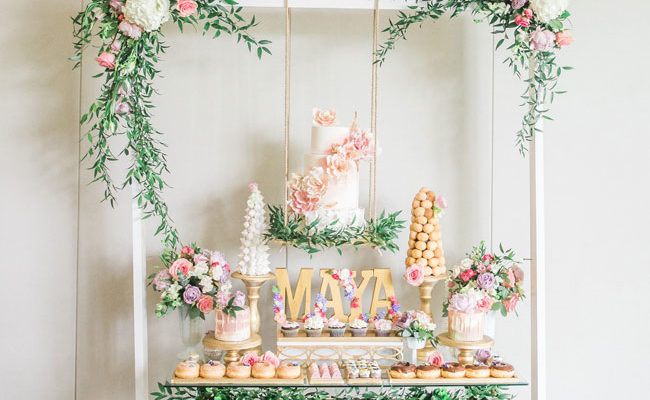 Gorgeous Garden Themed 1st Birthday Party