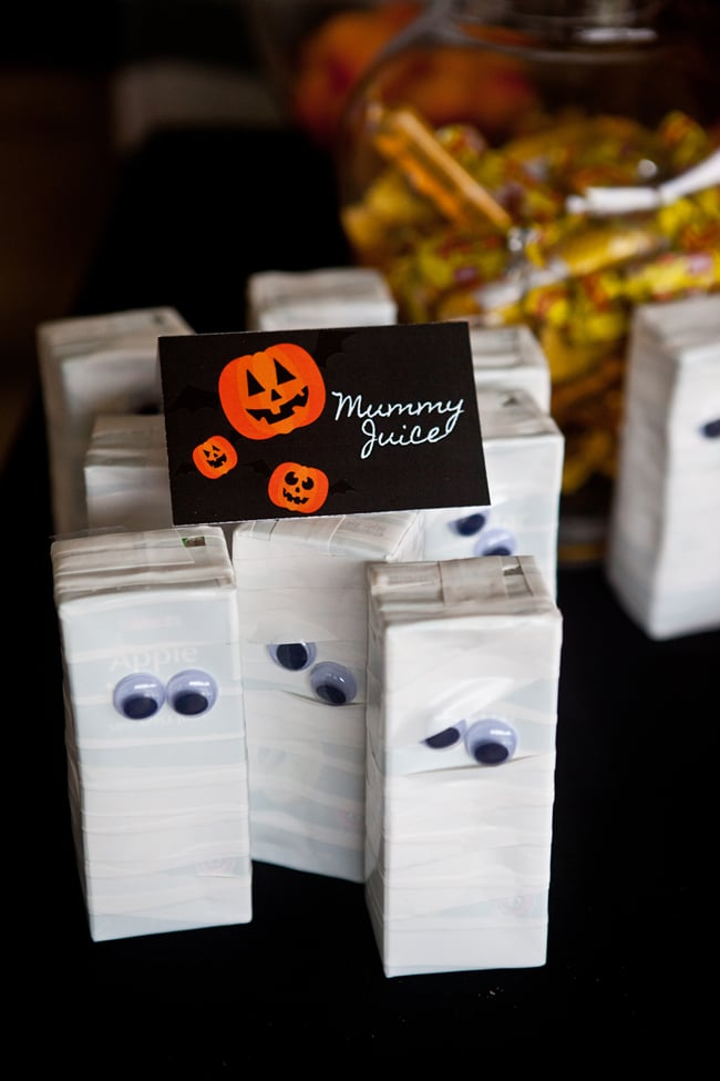 Mummy Juice - Healthy Halloween Snacks