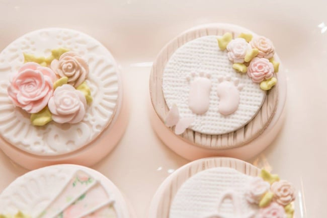 Garden Baby Shower Oreos