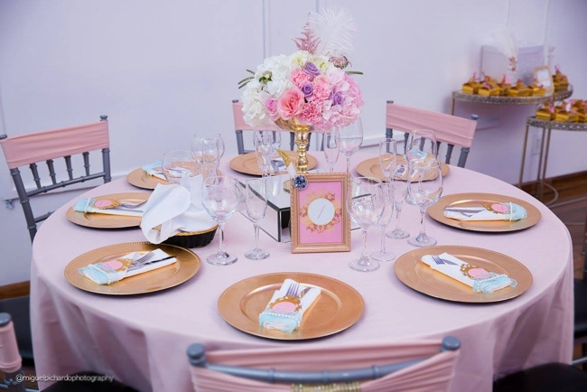Gorgeous Marie Antoinette Baby Shower Table - Pretty My Party