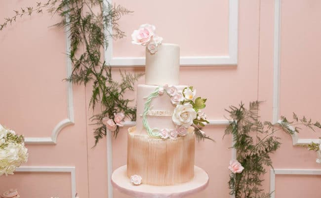 Blush Garden Themed Baby Shower