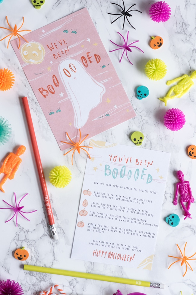 Booed Halloween Free Printables